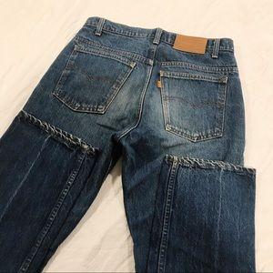 Vintage | Levi's Orange Tab Dark Wash Mom Jeans